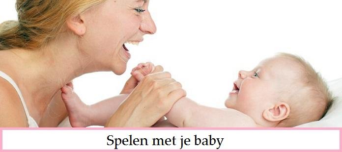 Babyspelletjes voor je pasgeboren baby