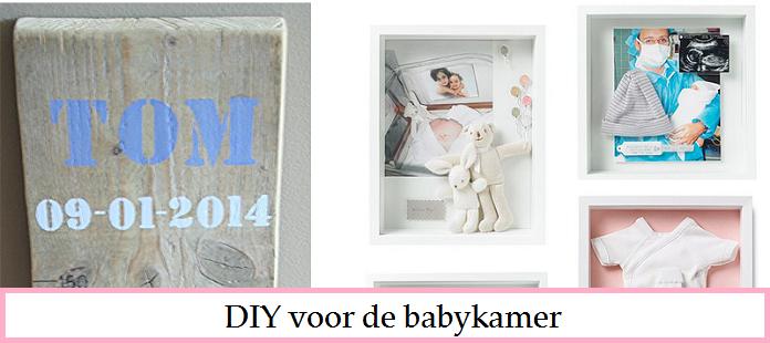 DIY voor de babykamer