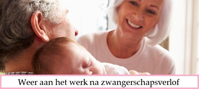 Weer aan het werk na zwangerschapsverlof