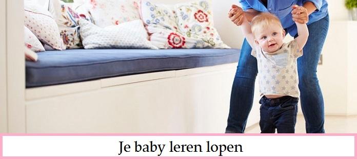 Je baby leren lopen