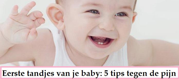 De eerste tandjes van je baby: 5 tips tegen de pijn